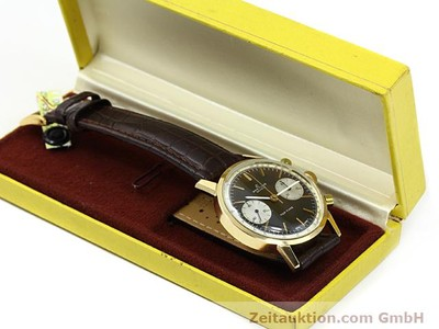 BREITLING TOP TIME ORO 18 CT CARICA MANUALE KAL. VALJ 7730 [140372]