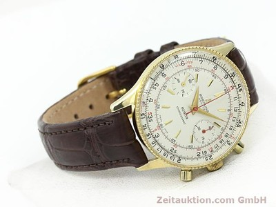 BREITLING CHRONOMAT GOLD-PLATED MANUAL WINDING KAL. VENUS 175 [140379]