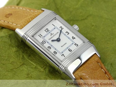 JAEGER LE COULTRE REVERSO STEEL MANUAL WINDING KAL. 890 [140393]