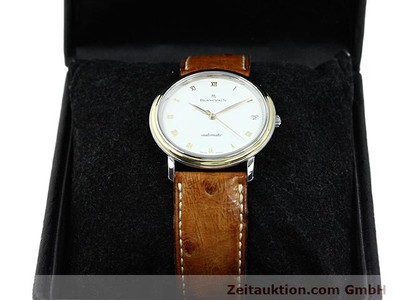 BLANCPAIN VILLERET STEEL / GOLD AUTOMATIC KAL. 9513 [140394]