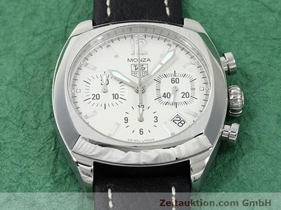 TAG HEUER MONZA STEEL AUTOMATIC [140396]