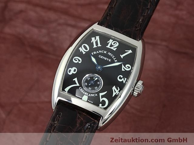 FRANCK MULLER CASABLANCA STEEL MANUAL WINDING KAL. AS 1727  [140401]