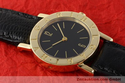 BVLGARI 18 CT GOLD QUARTZ KAL. T12-MEVE [140415]