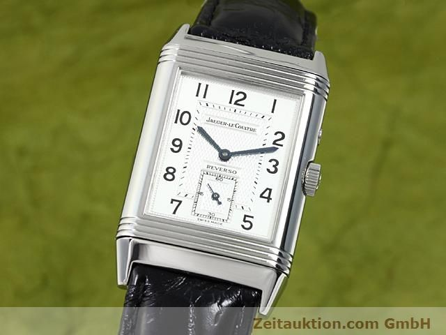 JAEGER LE COULTRE REVERSO STEEL MANUAL WINDING  [140416]