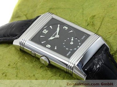 JAEGER LE COULTRE REVERSO ACCIAIO CARICA MANUALE [140416]