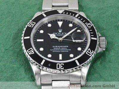 ROLEX SUBMARINER STEEL AUTOMATIC KAL. 3135 [140418]