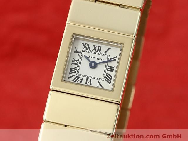 CARTIER ORO 18 CT QUARZO KAL. 201 VINTAGE [140432]