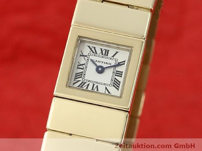 CARTIER 18 CT GOLD QUARTZ KAL. 201 VINTAGE [140432]