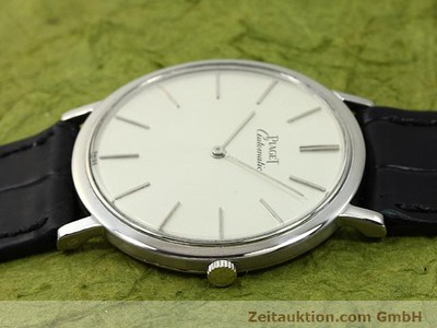 PIAGET 18 CT WHITE GOLD AUTOMATIC KAL. 12PC1 [140433]