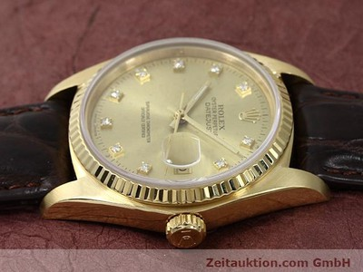 ROLEX DATEJUST ORO 18 CT AUTOMATISMO KAL. 3035 [140437]