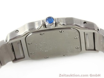 CARTIER SANTOS STEEL / GOLD QUARTZ KAL. 157 [140450]