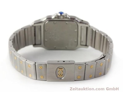 CARTIER SANTOS ACIER / OR QUARTZ KAL. 157 [140450]
