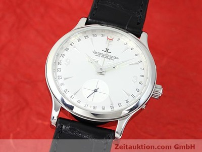 JAEGER LE COULTRE MASTER CONTROL STEEL AUTOMATIC KAL. 891/2/447 [140451]