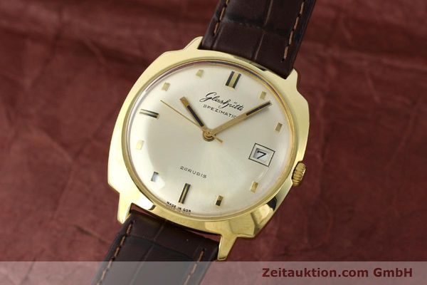 GLASHÜTTE SPEZIMATIC GOLD-PLATED AUTOMATIC  [140460]