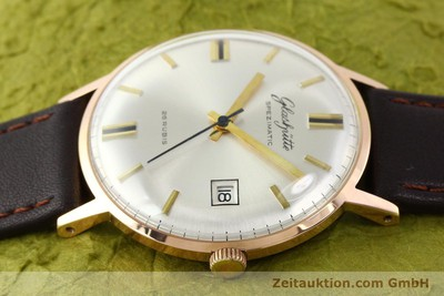 GLASHÜTTE SPEZIMATIC GOLD-PLATED AUTOMATIC KAL. 75 [140463]