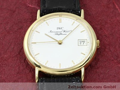 IWC PORTOFINO OR 18 CT QUARTZ KAL. 2210 ETA 255411 [140464]
