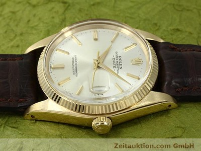 ROLEX DATE 18 CT GOLD AUTOMATIC KAL. 1560 [140465]