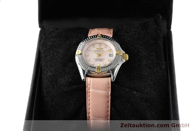 BREITLING WINDRIDER GILT STEEL QUARTZ [140467]