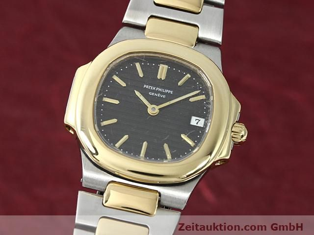 PATEK PHILIPPE NAUTILUS STEEL / GOLD QUARTZ  [140470]