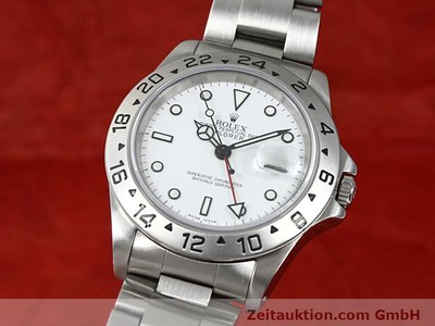 ROLEX EXPLORER STEEL AUTOMATIC KAL. 3185 [140477]