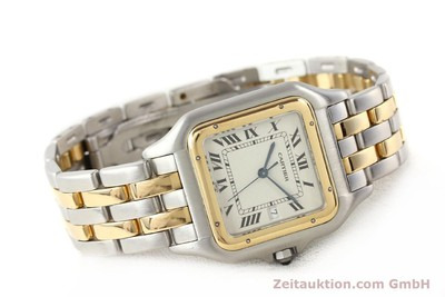 CARTIER PANTHERE ACERO / ORO CUARZO [140493]