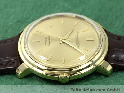 IWC DE LUXE 18 CT GOLD AUTOMATIC KAL. C.853 [140497]