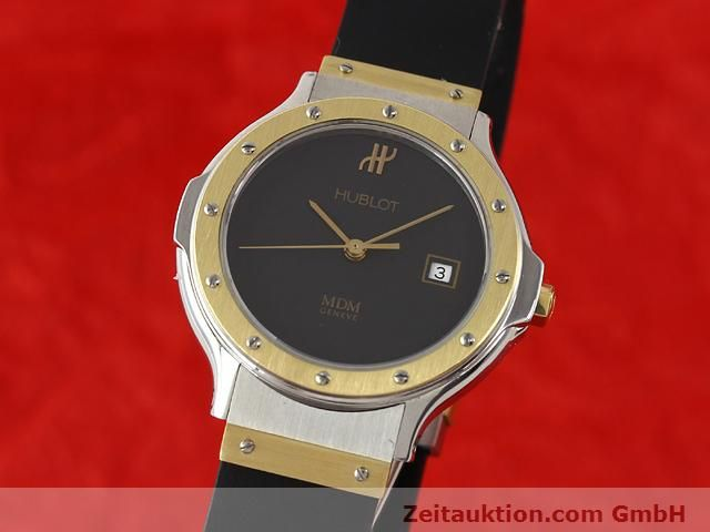 HUBLOT MDM GILT STEEL QUARTZ KAL. ETA 956112 [140504]