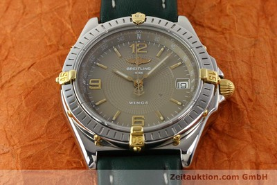 BREITLING WINGS GILT STEEL AUTOMATIC KAL. ETA 2892-2 [140505]