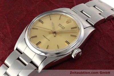 ROLEX PRECISION STEEL MANUAL WINDING KAL. 1225 [140521]