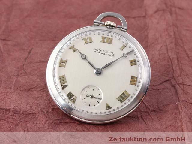 PATEK PHILIPPE TASCHENUHR PLATINIUM MANUAL WINDING  [140523]