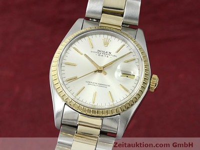 ROLEX DATE STEEL / GOLD AUTOMATIC KAL. 1570 [140526]