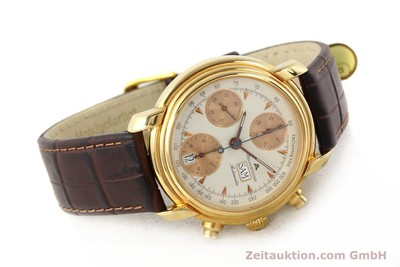 MAURICE LACROIX CRONEO GOLD-PLATED AUTOMATIC KAL. VAL 7750 [140529]