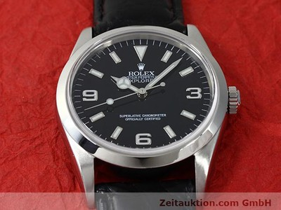 ROLEX EXPLORER STEEL AUTOMATIC KAL. 3000 [140538]