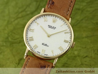 ROLEX CELLINI 18 CT GOLD MANUAL WINDING KAL. 1601 [140543]