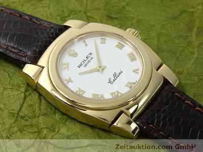 ROLEX CELLINI 18 CT GOLD MANUAL WINDING KAL. 1602 [140544]