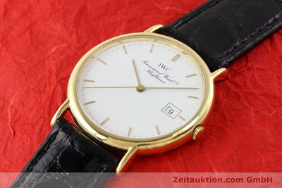 IWC PORTOFINO 18 CT GOLD QUARTZ [140545]