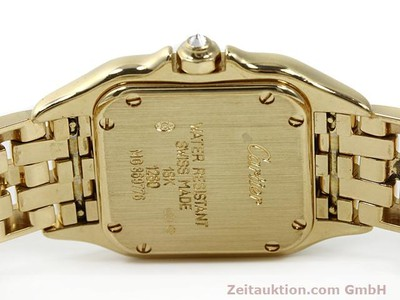 Cartier Panthere 18k Gold Quarz Kal. 157 [140550]