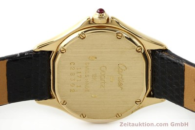 CARTIER COUGAR 18 CT GOLD QUARTZ KAL. 87.06 [140552]