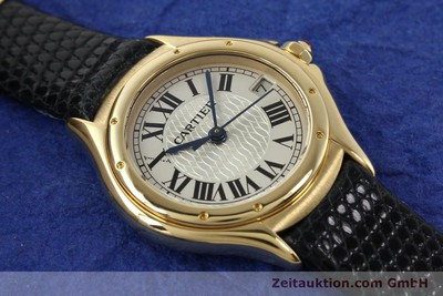 CARTIER COUGAR OR 18 CT QUARTZ KAL. 87.06 [140552]