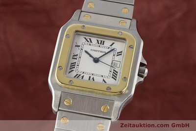 CARTIER SANTOS STEEL / GOLD AUTOMATIC [140555]