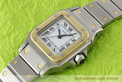 CARTIER SANTOS STEEL / GOLD AUTOMATIC [140560]