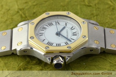 CARTIER SANTOS STEEL / GOLD AUTOMATIC [140567]