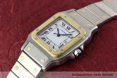 CARTIER SANTOS STEEL / GOLD AUTOMATIC [140571]