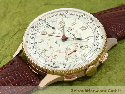 BREITLING CHRONOMAT 18 CT GOLD MANUAL WINDING KAL. 217012 [140575]