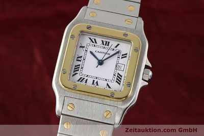 CARTIER SANTOS ACIER / OR AUTOMATIQUE [140578]
