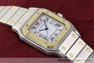 CARTIER SANTOS STEEL / GOLD AUTOMATIC [140578]