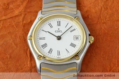 EBEL CLASSIC WAVE STEEL / GOLD QUARTZ [140579]