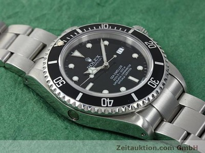 ROLEX SEA DWELLER STEEL AUTOMATIC KAL. 3135 [140582]