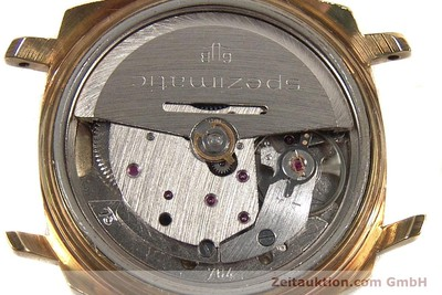 GLASHÜTTE SPEZIMATIC GOLD-PLATED AUTOMATIC KAL. 75 [140599]