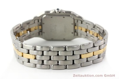 Cartier Panthere Stahl / Gold Quarz [140609]